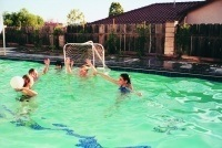 DELUXE WATER POLO GAME SET