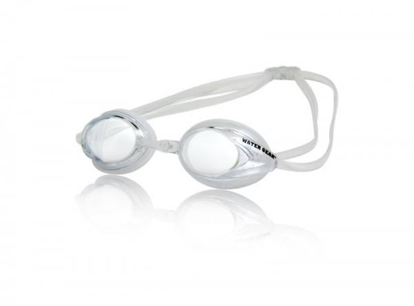 DIOPTER CORRECTIVE LENS SWIM GOGGLES - CLEAR