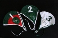 #51300 GREEN WATER POLO CAP